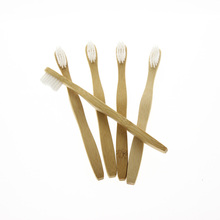 5Pcs/Set FDA Certification Amazon Sold Best Environmentally Eco Friendly Wholesale Kid Child Bamboo Toothbrush