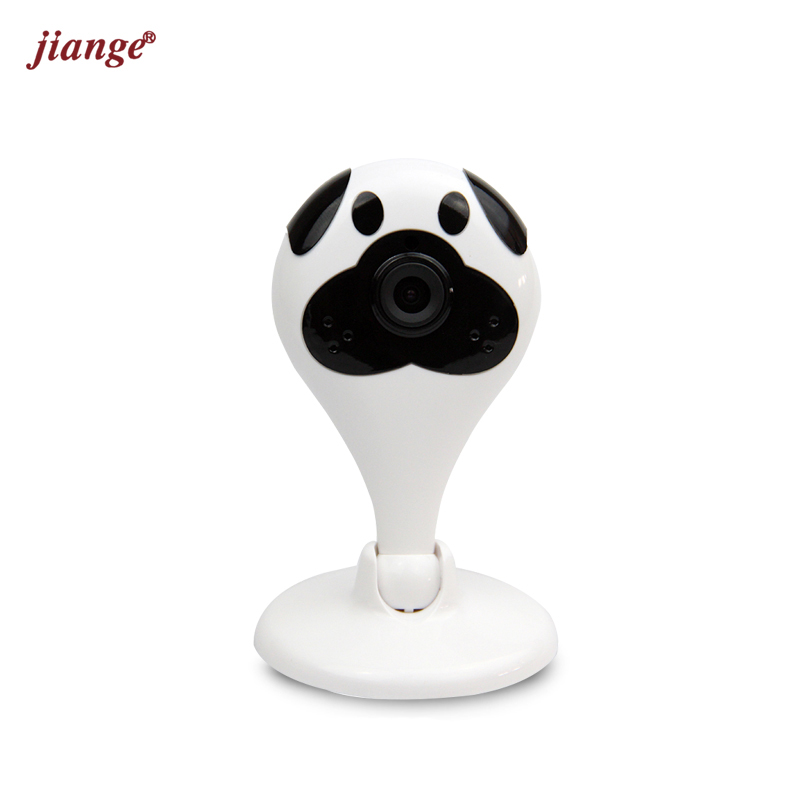 jiange Multifunction Mini Wireless WIFI IP Camera Baby Elder Pet Nanny Monitor 2 Way Audio Video