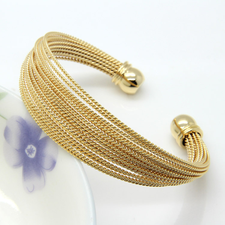 Twisted Wire Bracelets Bangles