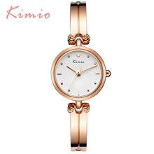New Fashion 2017 TOP Kimio Luxury Women's Quartz Dress Watches Bracelet Watch Waterproof Stainless Steel Ladies Wristwatches