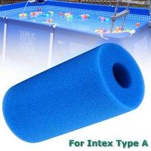 Фильтр губка для очистки плавательный бассейн аксессуары Пена многоразовая моющаяся пена подходит пузырьковый фильтр пена для Intex типа A