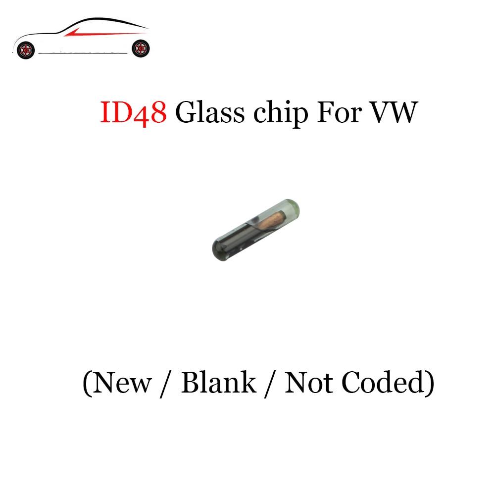 1 PCS X VOLVO TRANSPONDER CHIP ID48 GLASS