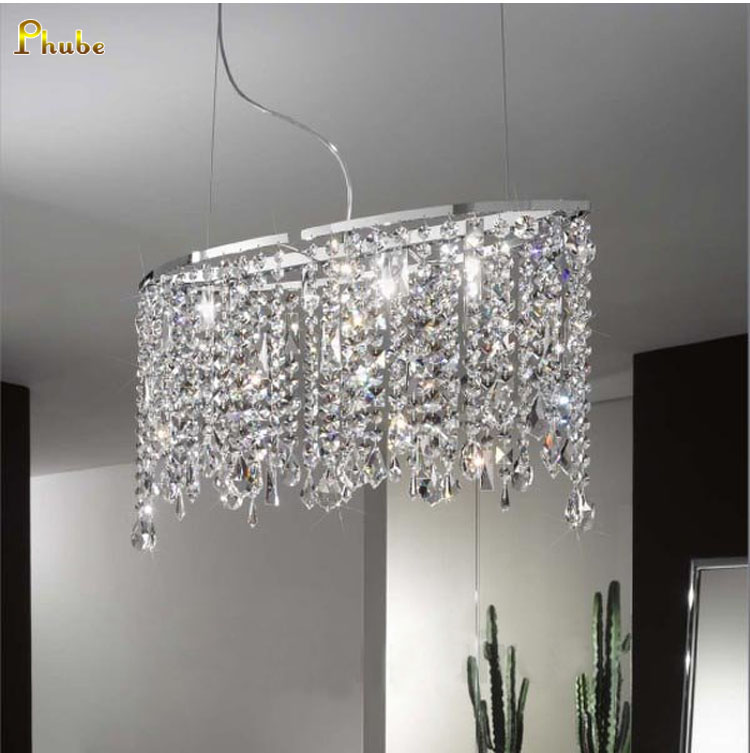 купить Modern Crystal Chandelier Dinning Room Chandelier Light Lighting Chrome / Gold Chandelier Light +Free shipping! по цене 15576.87 рублей