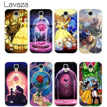 Lavaza Beauty And The Beast Hard Transparent Cover Case for Samsung Galaxy S7 Edge S6 S8 Edge Plus S5 S4 S3 & Mini S2