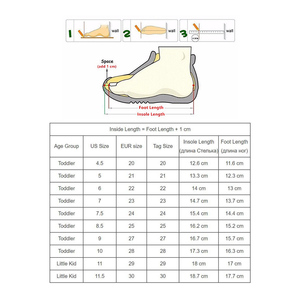 Image 5 - Apakowa 2019 summer kids shoes brand closed toe toddler boys sandals orthopedic sport pu leather baby boys sandals shoes