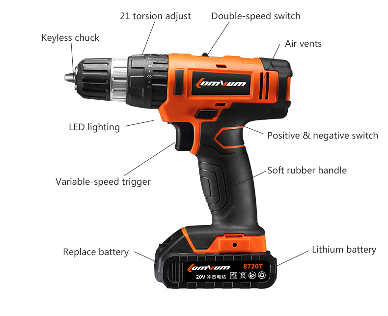 57 in 1 Electric Screwdriver Rechargeable Cordless Driver Kit For Camera Laptop