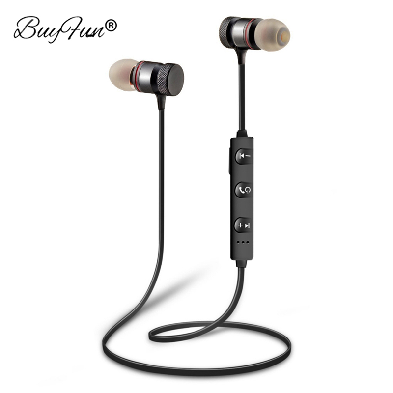 TWS In-ear Bluetooth Earphone Wireless Sport Earbuds Hifi Music Headset For iPhone Samsung Xiaomi Android Magnetic Head phone mini wireless in ear micro earpiece bluetooth earphone cordless headphone blutooth earbuds hands free headset for phone iphone 7