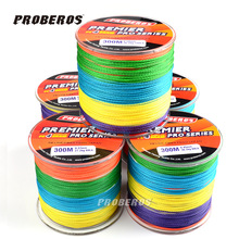 The 4 series of 300 meters line PE fishing anglers fishing horse vigorously weaving colorful colorful line explosion models