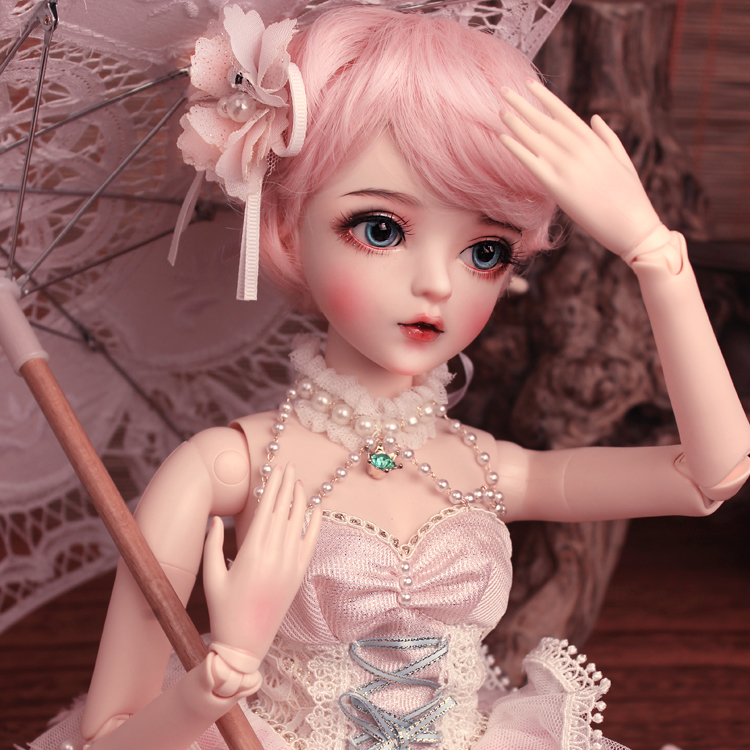 Image 4 - BJD 1/3ball jointed Doll gifts for girl  Handpainted makeup fullset Lolita/princess doll  with clothes MAN YUDolls   -
