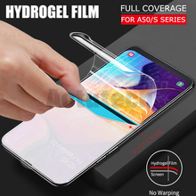 3D Full Cover Screen Protector TPU Film For Samsung Galaxy A50 A505F A30 A70 M20 S10e S8 S9 S10 Plus Note 9 8 Soft Hydrogel Film front back 36d hydrogel film for samsung galaxy a30 a50 a70 m20 a20e a40 a20 screen protector for s10 s9 s10e plus film cover