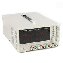 Korad ka3305p precisão programável variável ajustável 30v 5a portas usb rs232 digital dc triplo linear fonte de alimentação classe laboratório