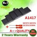 Оптовая продажа новый аккумулятор для ноутбука Apple MacBook Pro 15 A1417 A1398 ( 2012 год ) MC975 MC976