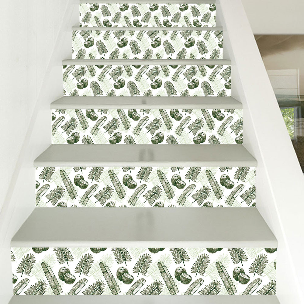 Home Decor Patterns: 2019 Year DIY Steps Sticker Removable Stair Sticker Home