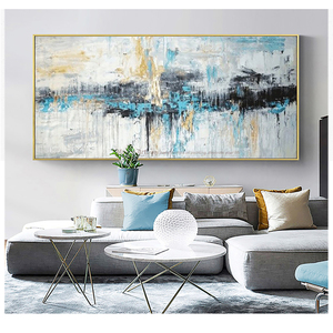 Image 3 - Abstract art painting modern wall art canvas pictures large wall paintings handmade oil painting for living room wall decor art