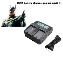 Lvsun Универсальный Батареи для камеры Зарядное устройство для Nikon Canon Sony NP F770 F750 f570 F550 f530 NP F970 F960 F950 F930 NP-F970 fm500h