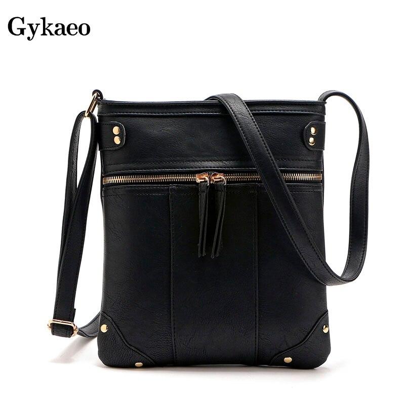 92468e5471c4 Маленькая сумка через плечо женская сумка-мессенджер кожаные сумки женские  знаменитые бренды sac основной femme