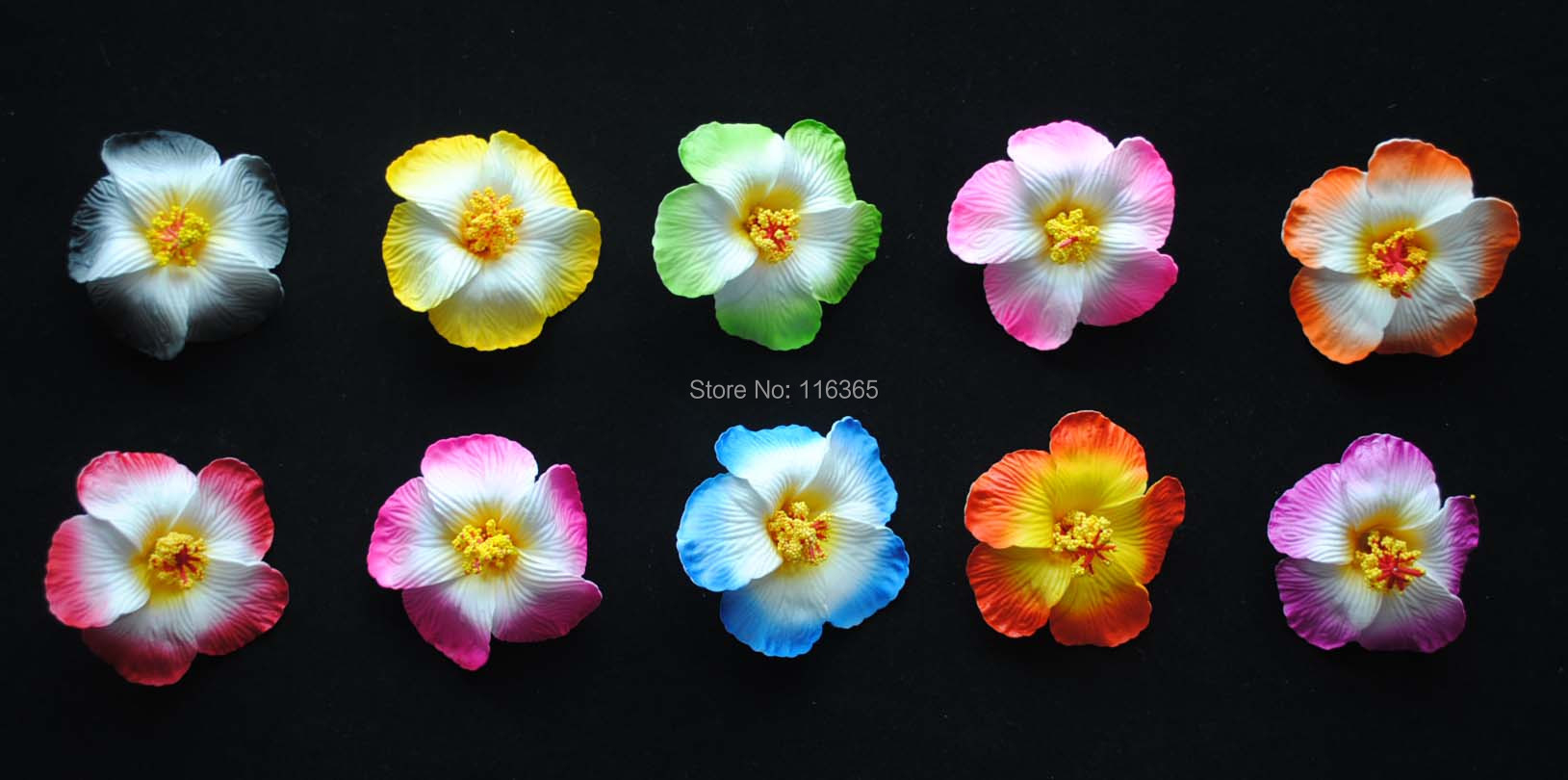 Promotion 40pcslot 9cm hibiscus foam flower hawaiian hair flower 40pcslot 9cm hibiscus foam flower hawaiian hair flower clip decorative wedding party flower free shipping in artificial dried flowers from home izmirmasajfo