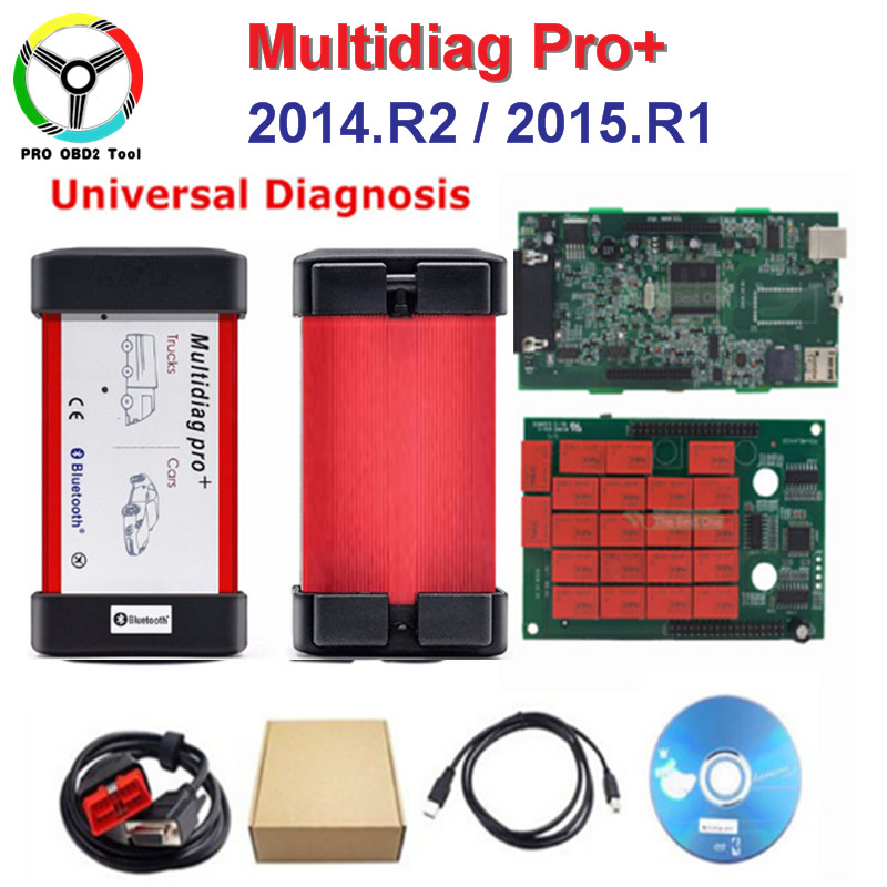 цена Newest TCS CDP Pro 2014.R2/2015.R1 Version Real 2015.1 Multidiag Pro Bluetooth Multi diag Pro Free Keygen Diagnostic Tool