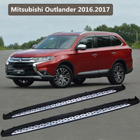 For Mitsubishi Outlander 2016.2017 Car Running Boards Side Step Bar Pedals High Quality Brand New Original Design Nerf Bars