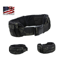 2016 MCBK MOLLE Enhanced Patrol Belt Pad Multicam Black tactical belt pads Imported fabric
