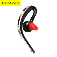 Fineborn Wireless Bluetooth Earphone Headsets Office Bluetooth Headphones With Mic Voice Control Noise Cancelling Music Earbud