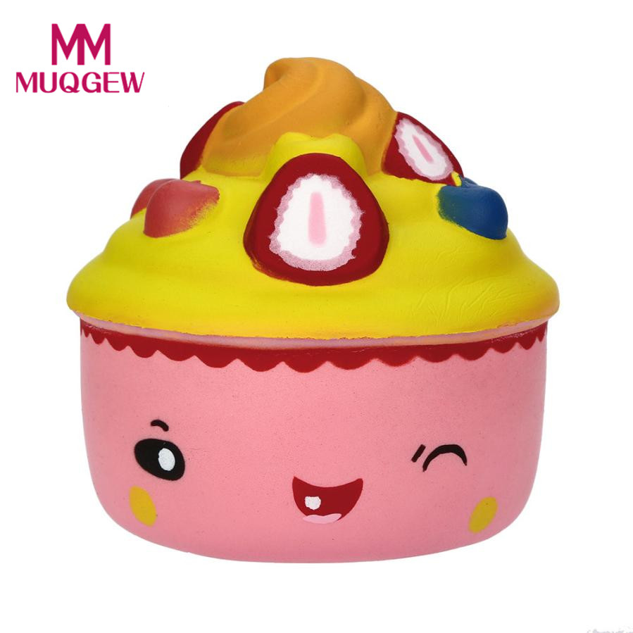 Drop shipping Hot selling Christma Gift squishy slow rising ice cream anti-stress Squishy toy for kids child Novelty Funny TOY