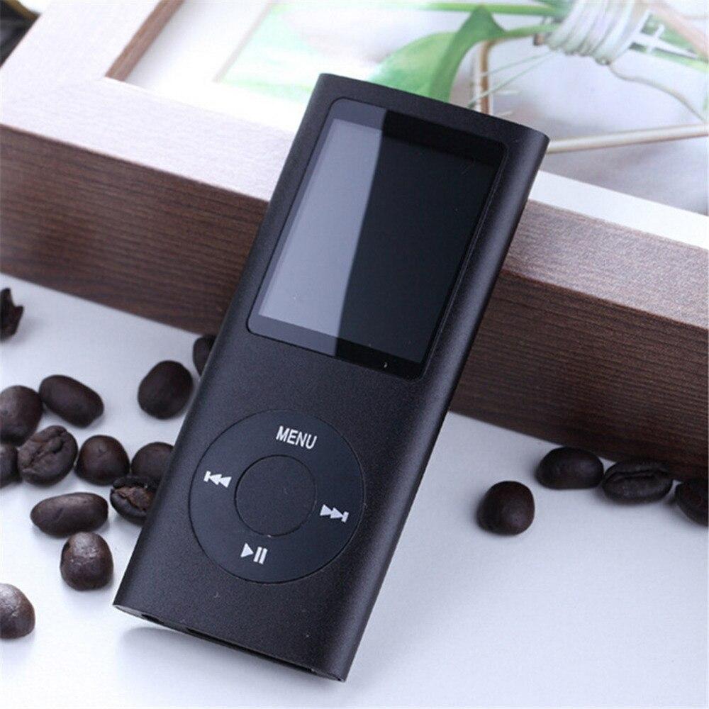 Nouveau 4ÈME Musique Vidéo Mp3 Mp4 Player avec 2 GB 4 GB 8 GB 16 GB 32 GB SD TF Carte 1.8 LCD MP4 lecteur Vidéo Radio FM lecteur