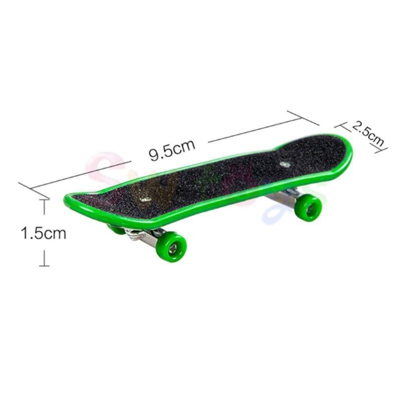 10 Pcs Finger Mini Skateboards Tech Lkw Legierung Stent Party Favors Geschenk