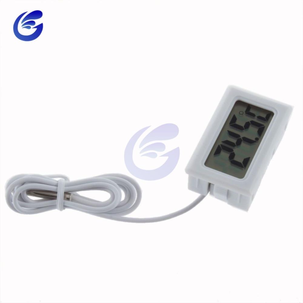HTB1f.CNaiHrK1Rjy0Flq6AsaFXaG Mini Digital LCD Probe Fridge Freezer Thermometer Sensor Thermometer Thermograph For Aquarium Refrigerator Kit Chen Bar Use 1M