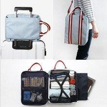 Men Small Travel Bags Foldable Suitcase Weekend Bag