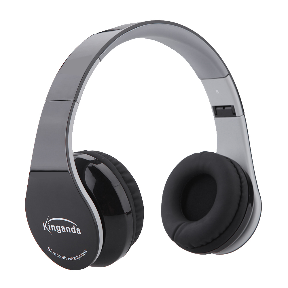 Bluetooth4.1 Headphones Wireless Foldable Hi-fi Stereo Headphone with Microphone and Volume Control Headsets for Android Ios