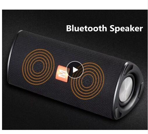 Image 2 - Bluetooth speaker built in stereo Rock 10W portable wireless Bluetooth speaker compatible with TF AUX card-in Portable Speakers from Consumer Electronics