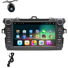 8 «Android 6.0 dvd-плеер автомобиля gps-навигация для Toyota Corolla 2006 2007 2008 2009 2010 2011 автомобиль Райдо стерео с SWC BT Wi-Fi
