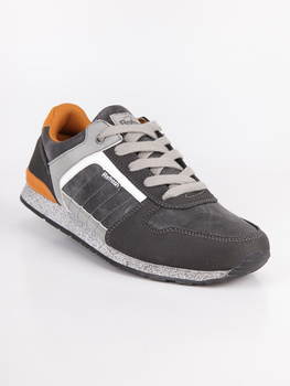 REFRESH Man's fashion patchwork sports shoes cosy casual shoes running shoes
