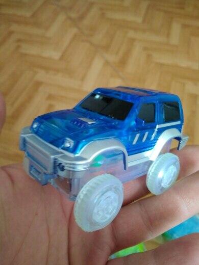 Dropshipping-LED-light-up-Car-Flashing-Lights-Educational-Toys-For-Children-Boys-Birthday-Gift-DIY-Magic-Track-Toy-cars-5