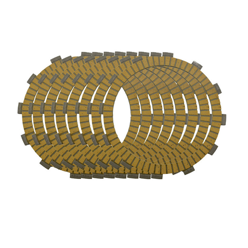 Motorcycle Engine Parts Clutch Friction Plates Kit For Kawasaki KX250 KX 250 1992-2008 #CP-0009