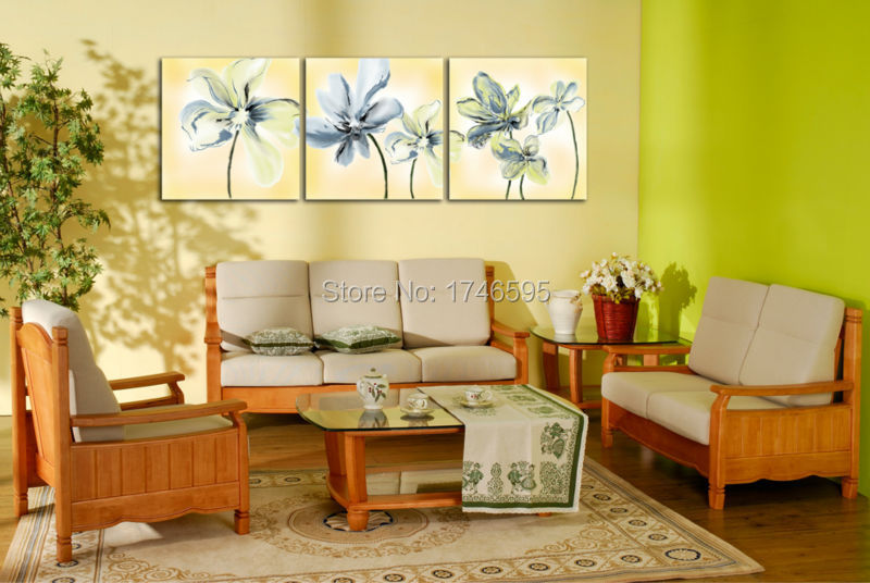 50x50cmx3 abstract Wall Art picture for living room bedroom home ...