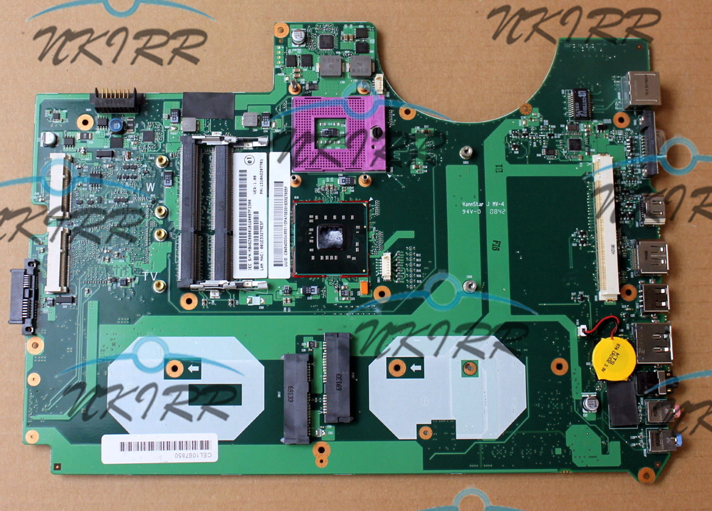 6050A2207701 MB A02 6050A2207701 MB A03 MBASZ0B001 DDR3 PM45 MotherBoard for Aspire 8930 8930G fit for GPU 9600MGT 9700M DDR3|Laptop Motherboard| |  - title=