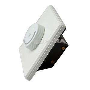 1PCS New Ceiling White  Fan Speed Control Switch Wall Button anti-flame PCmaterial Control Switch AC220V 10A 86x86mm