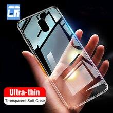 Ultra Ince Yumuşak Şeffaf TPU Kılıf için Meizu U10 U20 MX6 Pro 6 7 M3 M15 M16 M5s M6S M5 m3 M6 Not Telefon Kapak Temizle Silikon