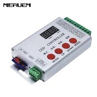 1 pcs DMX512 controller guardrail tube controller LED full color controller,Controller with LPD6803 TM1809 WS2811 DMX512