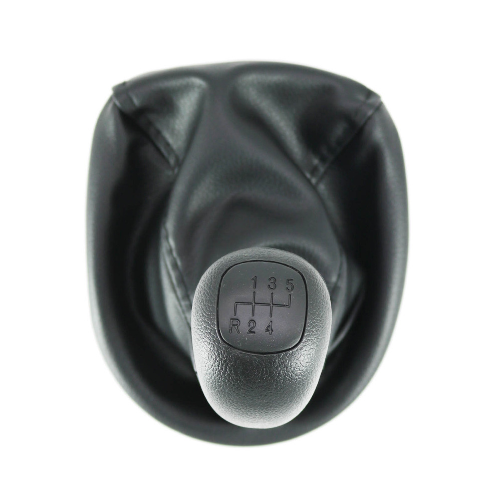 For Mercedes Benz W638 VITO 1996 1997 1998 1999 2000 2001 2002 2003 5 Speed Car Stick Shift Gear Knobs With Leather Gaitor