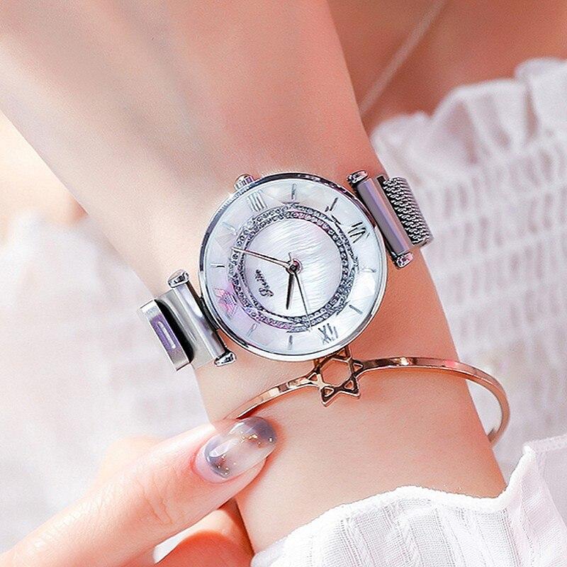 Women Gift Bling Quartz Watch Fashion  Casual Ladies Female Shinny Watches Dress Crystal Diamond Luxury Women Clock Wristwatches Women's Watches     - title=