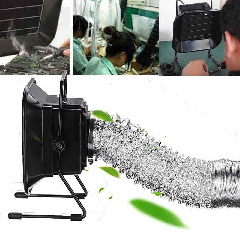 220 V 50 W geräuscharm aktivkohle filter blatt Solder Rauch Absorber oldering Eisen Rauch Fan Entferner