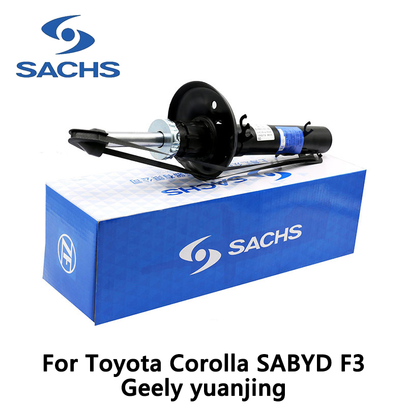1pieces Sachs Front Left Car Shock Absorber For Toyota Corolla SABYD F3 Geely yuanjing auto part sachs 313 507 sachs амортизатор