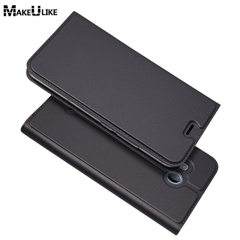 MAKEULIKE Slim Magnetic Case For HTC U11 Life Flip Cover PU Leather Mobile Phone Bags Cases For HTC U11/ U11 Life