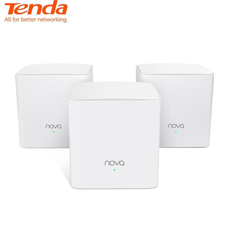 Tenda Nova MW5S Toda Malha Casa Wi-fi Sistema com AC1200 Gigabit 2.4G/5.0GHz WiFi Wireless Router e repetidor, APLICATIVO de Gerenciamento Remoto