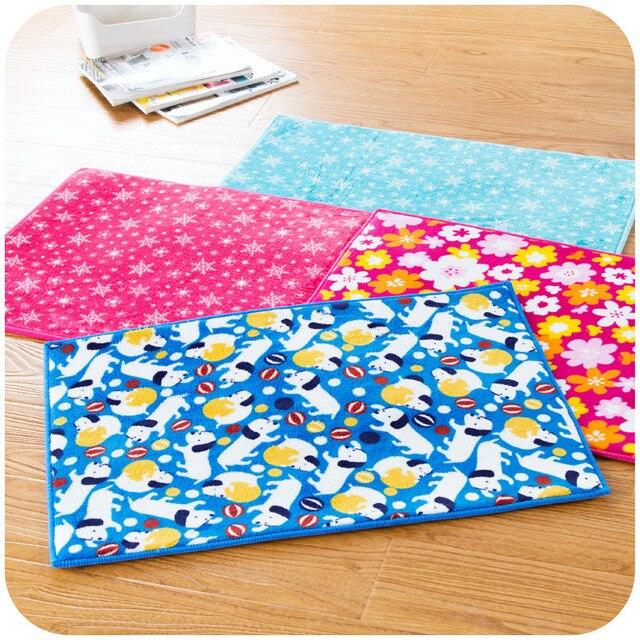 Farbe Blume Plüsch Schlafzimmer Matte Anti Absorbent Kuche Zimmer Boden  Teppich Dusche Teppich Dekoration SK761