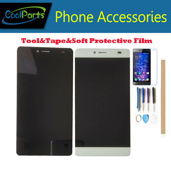 1 teil/los Für BQ BQS-5070 BQS 5070 Magie BQ5070 BQ 5070 BQ-5070 LCD Display Screen + Touch Screen Digitizer Schwarz weiß Farbe + Kits