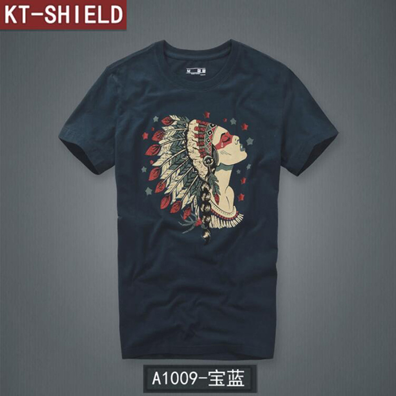 2019 Summer   T  -  shirt   High Quality 100% Cotton Men's   T  -  Shirts   Short Sleeve   T     shirts   Man Tees & Tops Casual Printed Tees Plus Size